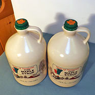 Pure Maple Syrup - 128 Fl. Oz. - One Gallon - 2-Count