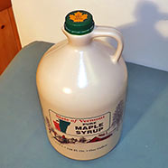 Pure Maple Syrup - 128 Fl. Oz. - One Gallon