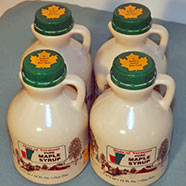 Pure Maple Syrup - 16 Fl. Oz. - One Pint - 4-Count