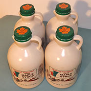 Pure Maple Syrup - 32 Fl. Oz. - One Quart - 4-Count