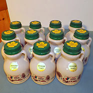 Pure Maple Syrup - 8 Fl. Oz. - Half Pint - 11-Count